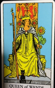 Rider Queen of Wands