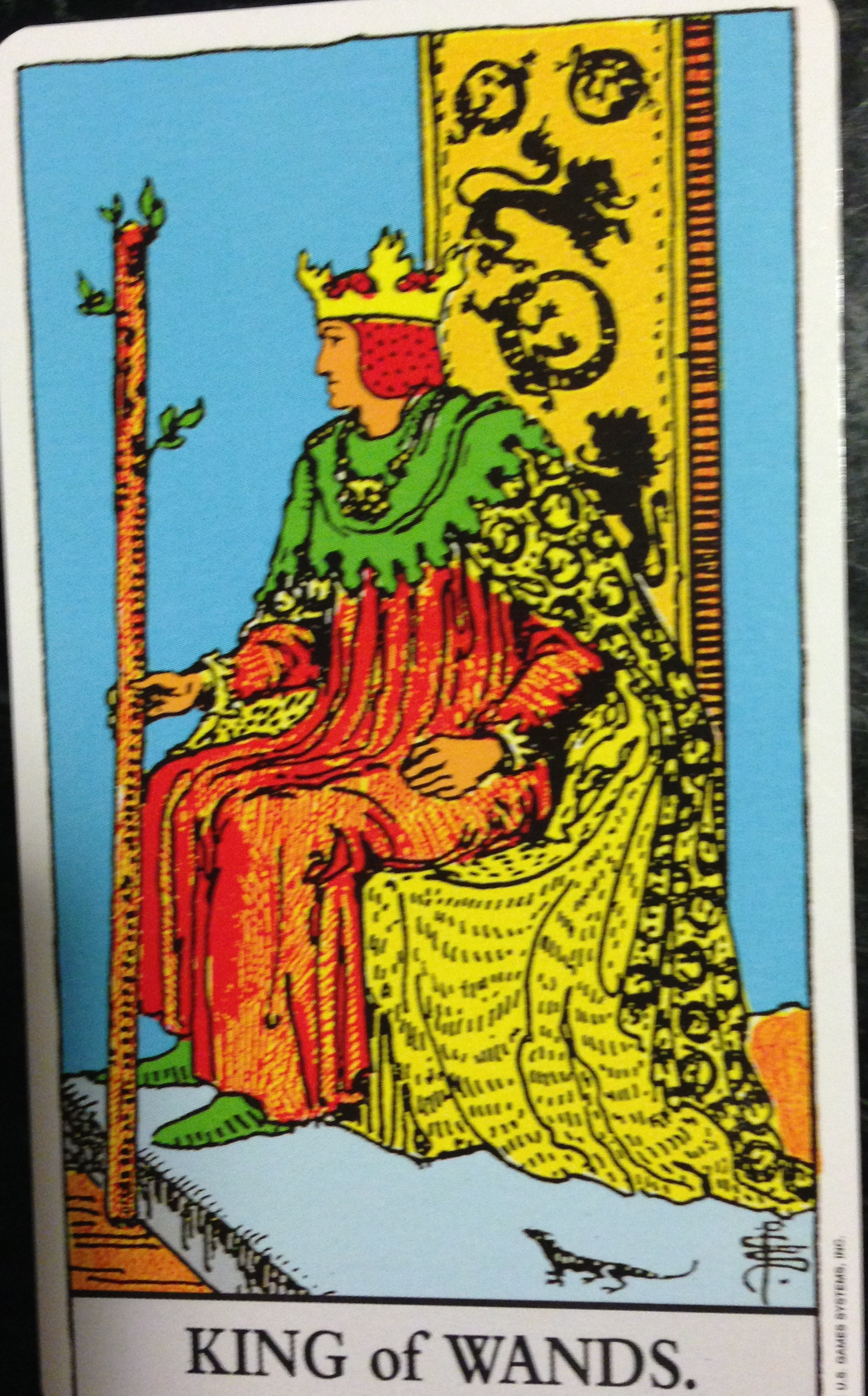 Salamander Tarot And The Element Of Fire Not Tomatoes