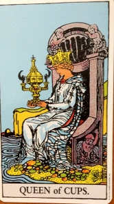Rider Queen of Cups
