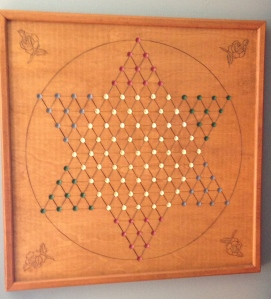 My Grandfather's Chinese Checker Board