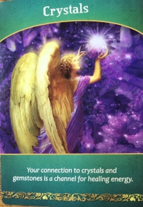 Crystals by Doreen Virtue, Life Purpose Oracle Cards
