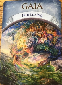 GAIA: Nurturing by Steven D. Farmer, Earth Magic Oracle Cards
