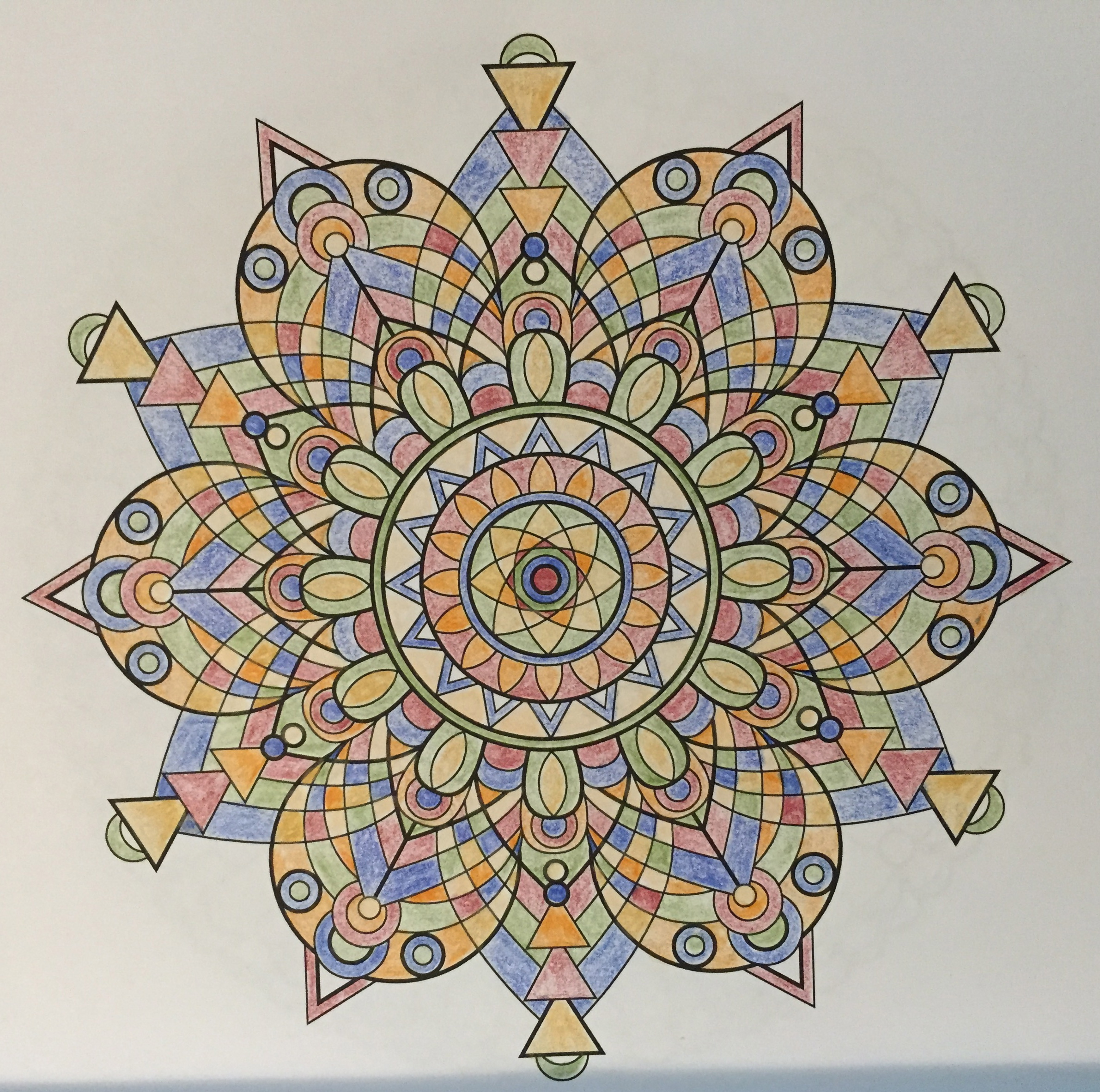 India Inspired Mandala From Design Vol 1 By Jenean Morrison
