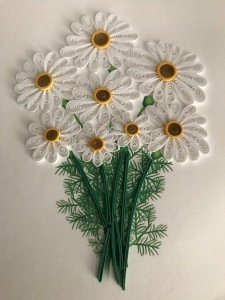 Flower card by Quilling Card LLC