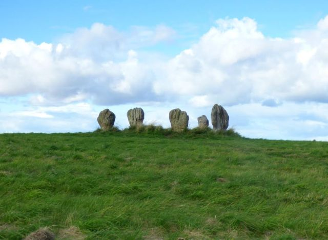 Ancient Stone Circle in Scotland