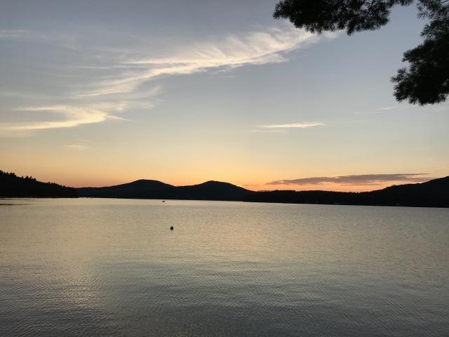 Peaceful sunset