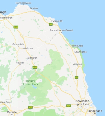 Northumberland from Google