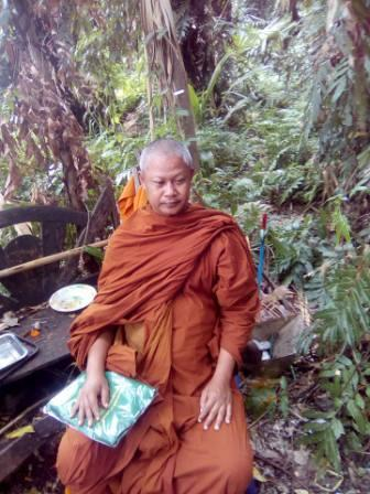 Monk sitting